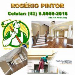 Rogério Pintor: (43) 9.9909-2016